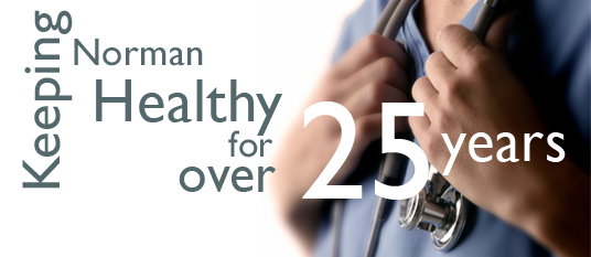 Keeping Norman Health for Over 27 Years